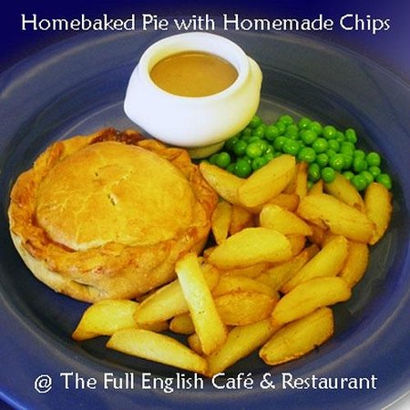 The Full English Cafe & Restaurant : Homebaked Pies