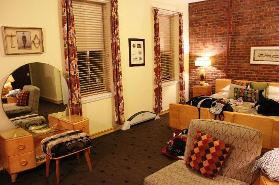 The Townhouse Inn of Chelsea: Our room