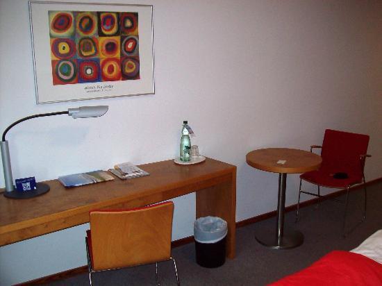 Ostseehotel Dierhagen: Schreibtisch und Sitzecke