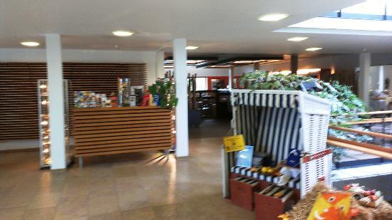 Ostseehotel Dierhagen: im Foyer