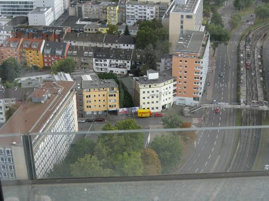 Hotel Ilbertz: A view from a nearby tower on the hotel and vicinity