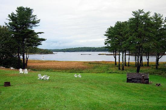 The Kennebec from the 1774 Inn