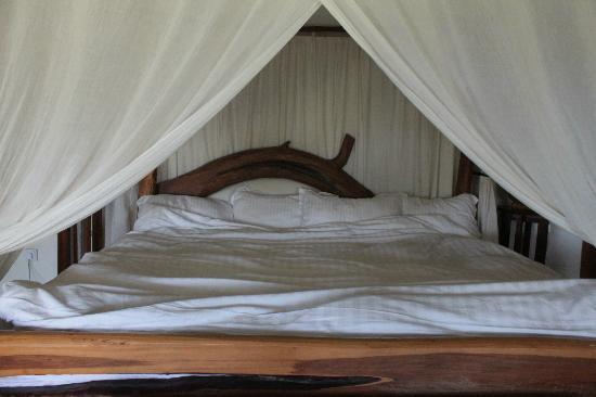 Malu: The huge, comfy bed.