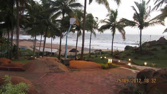 Hotel Samudra KTDC: Awesome view from the room balcony