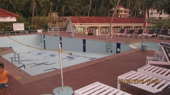 Hotel Samudra KTDC: pool - shut for maintenance though