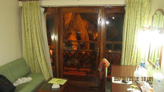 Hotel Samudra KTDC: balcony
