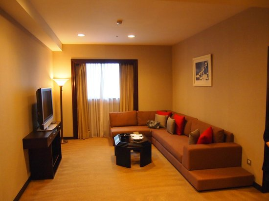 The Landis Taipei: Living room