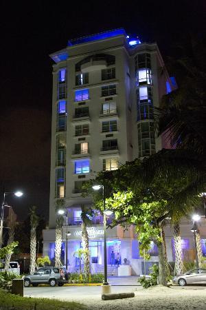 San Juan Water Beach Club Hotel View At Night