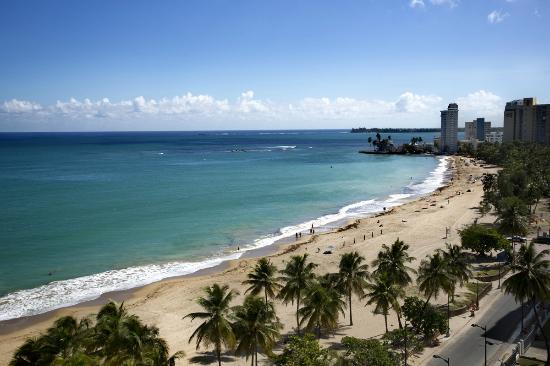 View From Rooftop Picture Of San Juan Water Amp Beach Club Hotel Isla Verde Tripadvisor