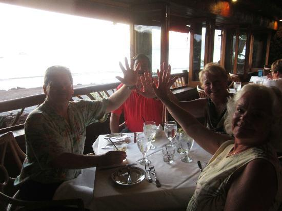 Five Palms Lahaina : We raised our hands for the Five fingers and our Palm  Five Palms