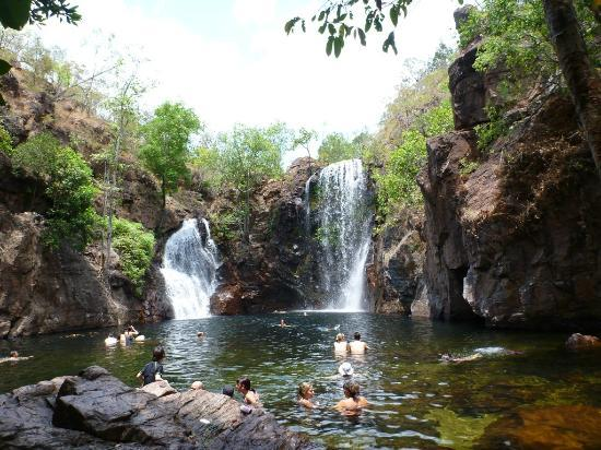Mary River Wilderness Retreat & Caravan Park : Florence Falls Litchfield NP