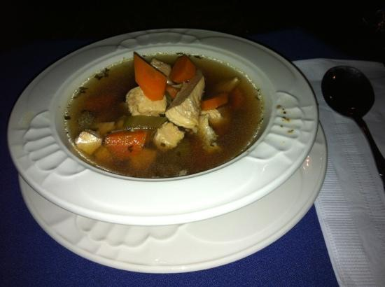Elizabeth Pointe Lodge: Soup of the day