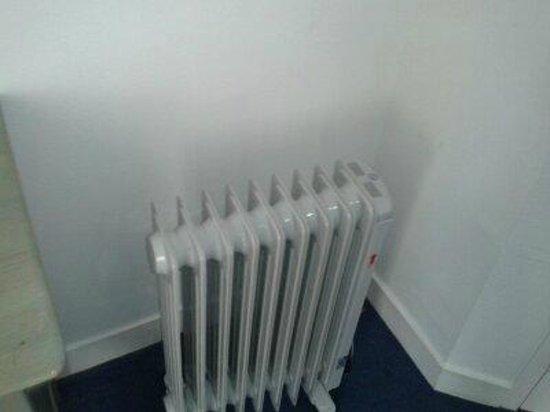 Hotel de la Plage: le radiateur
