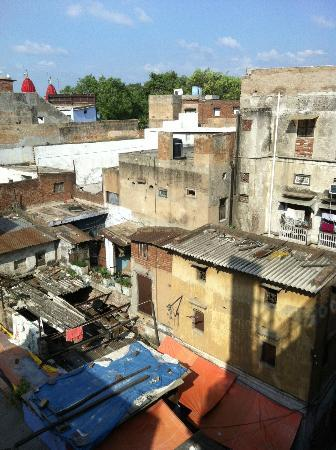 Hotel Tara Palace Chandni Chowk: View from the room's balcony