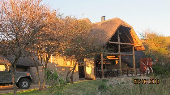 Nyaru Private Game Lodge: The Main house