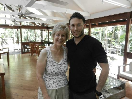 Daintree Wilderness Lodge: With Jake