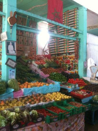 Dar Zouhour : Marché de Raba