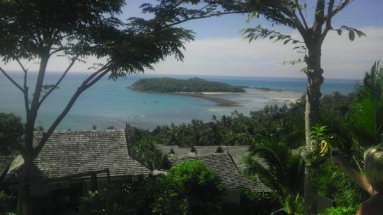 Bhundhari Spa Resort & Villas Samui: view from top of resort