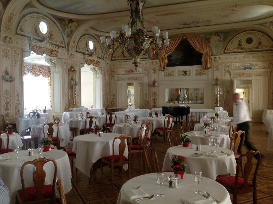 Grand Hotel Kronenhof: Speisesaal