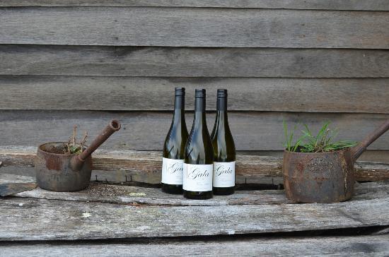Gala Estate Vineyard: A few wines on display