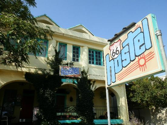 Route 66 Hostel: front hostel