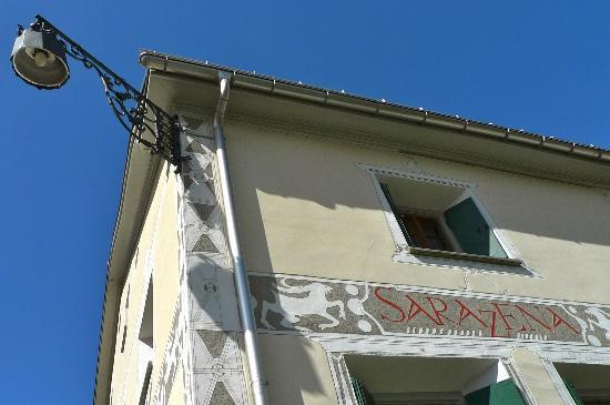 Grand Hotel Kronenhof: Via Maistra