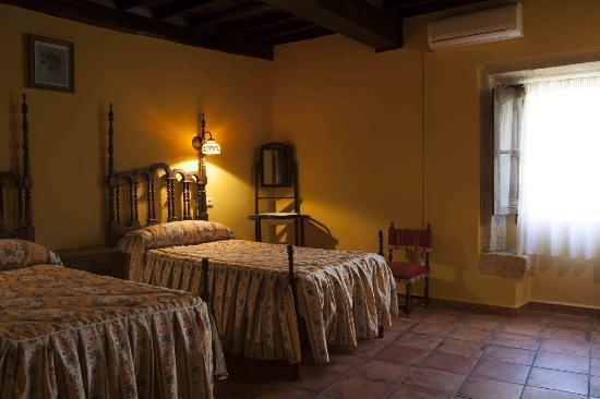 Casa Rural Corvina: Habitaciones