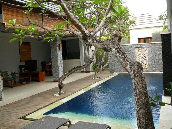 The Wolas Villas & Spa: eigen living en zwembad