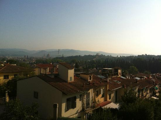 SanGaggio House: Aussicht vom Zimmerbalkon
