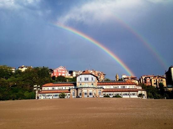 Hotel Igeretxe: bajo el arco iris
