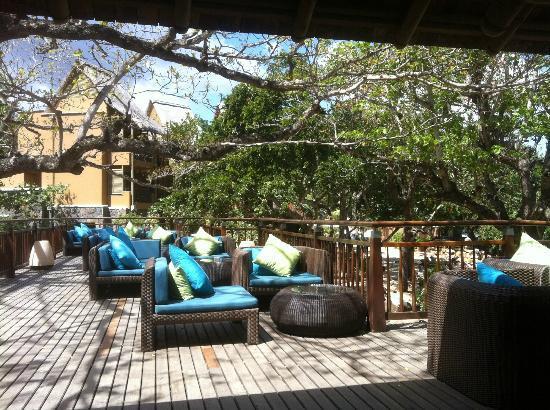 Tamarina Golf & Spa Boutique Hotel: espace cafe / Apéro