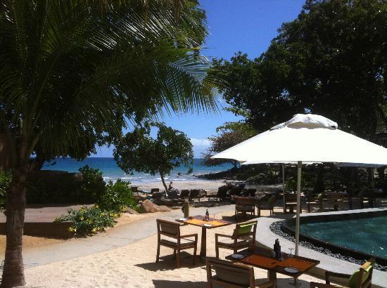 Tamarina Golf & Spa Boutique Hotel: espace plage