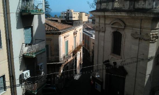San Sebastiano Holidays: vista dalla nostra camera