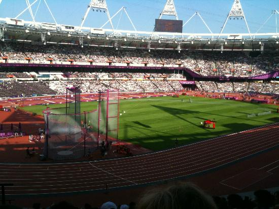 London Stadium: View from my seat