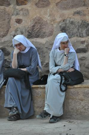 Sharm Best Excursions Day Trips: Nuns @ monestary