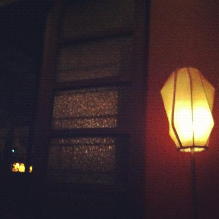 77 Bar and Restaurant: one of the lamps