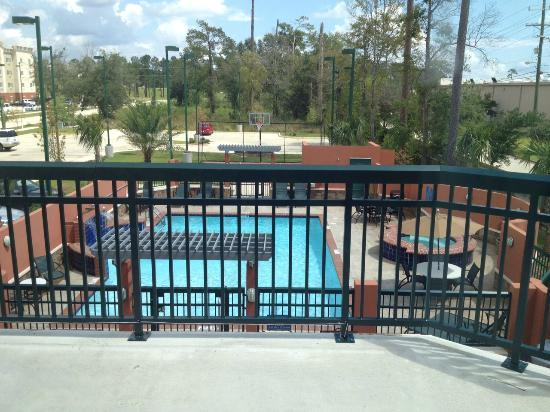 Homewood Suites by Hilton Slidell: View from 201 - Pool View