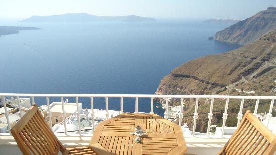 Ατλαντίδα: Caldera view from the room