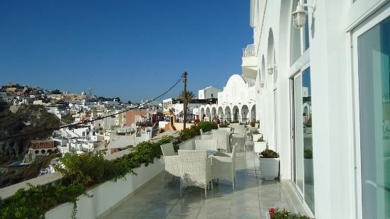 Atlantis Hotel: Balcony-Lobby