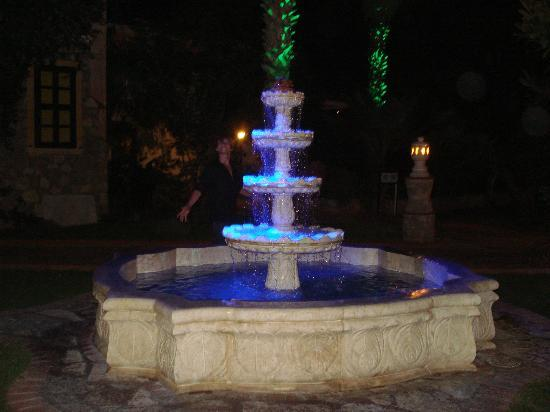 Oludeniz Resort by Z'Hotels: beautiful fountain in hotel grounds