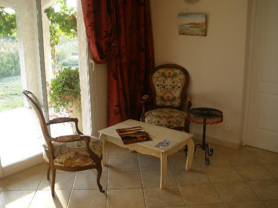Hotel La Tramontane: Lounge