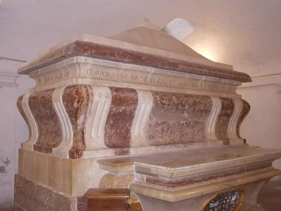 Chiesa di San Fortunato: san fortunato - tomba martiri tuderti 