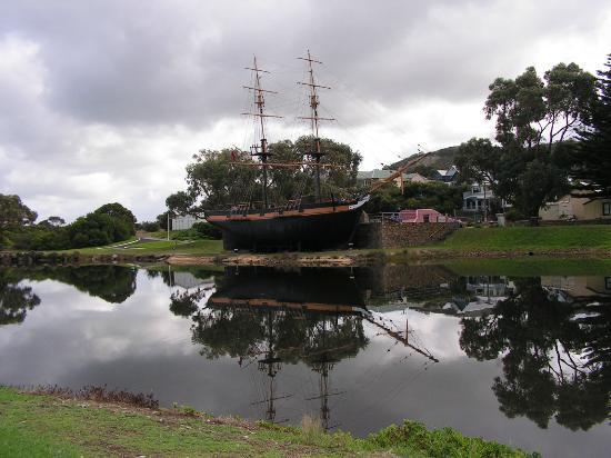 The replica of the Brig Amity