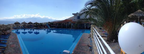 Elounda Water Park Residence: Pool area