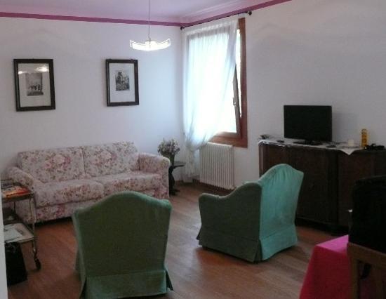 Agriturismo Villa Selvatico : Living room Il Glicine