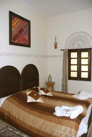 Riad Lahboul: Menstarr double bedroom