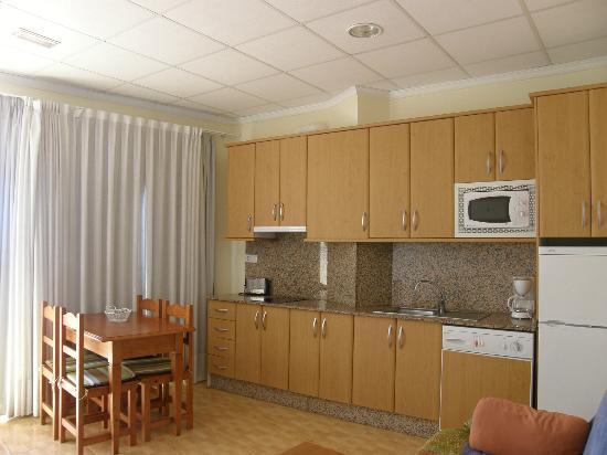 Apartamentos Bellavista: cocina