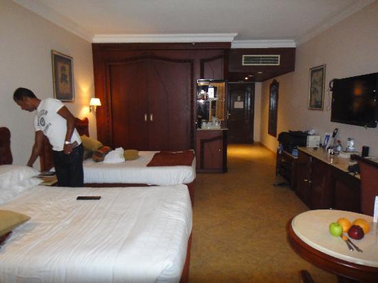 Palm Royale Soma Bay: Wonderful large clean rooms