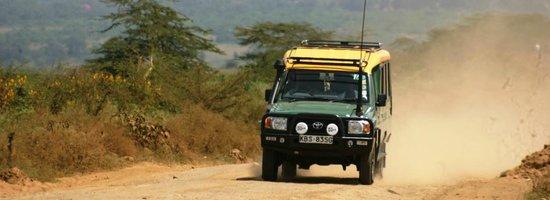 Natural World Kenya Safaris: 4x4 safari jeep