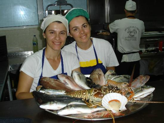 Sea View Taverna : In the Kitchen